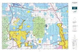 Road Map Arizona by Arizona Gmu 34b Map Mytopo