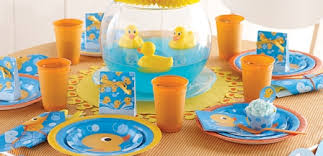 baby looney tunes baby shower decorations rubber ducky party supplies for baby shower themes at mtrade