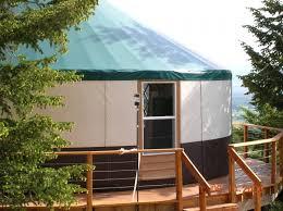 how safe are yurts rainier yurts