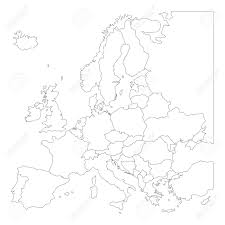Blank Map Of Mid Atlantic States by 100 Map Of Eurpoe 1922 Maps High Speed Rail Map Of Europe