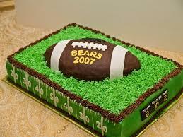 football cakes football cake on cake central pinteres