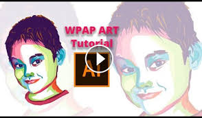 video tutorial wpap click to watch kids wpap tutorial illustrator photoshop in hd