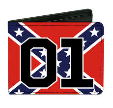 Rebel Flags Images Wallet Confederate Flag 01 Red Cooters