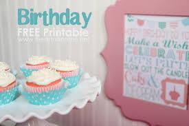 free printable birthday cake banner 15 free birthday printables i heart nap time