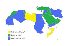 Eastern States Map by Libya Who Rules Where
