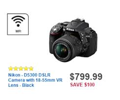 dslr deals black friday nikon d5300 dslr camera with 18 55mm vr lens black deal at