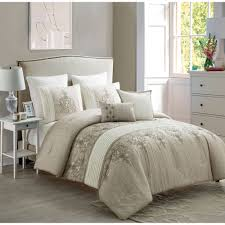 Taupe Comforter Sets Queen Bedding Mesmerizing 8 Piece Aruba Redtaupe Comforter Set Taupe