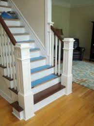 Recessed Handrail Contemporary Stair Solution