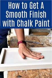 how do i get a smooth finish on kitchen cabinets how to get a smooth finish with chalk paint abbotts at home
