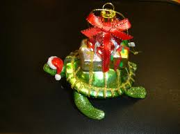 sea turtle and turtle ornament gifts