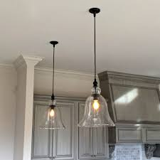 kitchen amazing clear glass kitchen island pendants globe