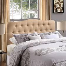 Linen Upholstered King Headboard Simple Linen Upholstered Headboard U2013 Home Improvement 2017
