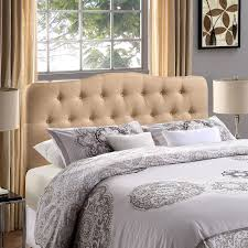 inspiration elegant in linen upholstered headboard u2013 home