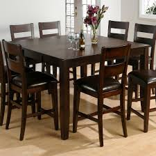 dining room elegant round tall kitchen table set ideas tips for