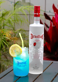 vodka tonic recipe blue lagoon recipe with devotion vodka by brittani lauren