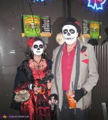 Dia De Los Muertos Costumes Dia De Los Muertos Couples Halloween Costume