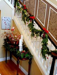 best 25 garland for stairs ideas on