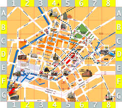 map of manchester city centre hotels