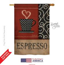 espresso house flag u0026 more garden flags at flagsforyou com