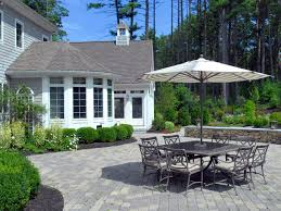 paver patio ideas easy u2014 all home design ideas