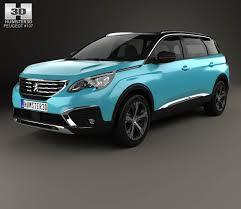 peugeot 2014 models peugeot 5008 2017 3d model hum3d
