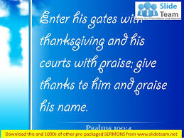 0514 psalms 1004 enter his gates with thanksgiving power point church