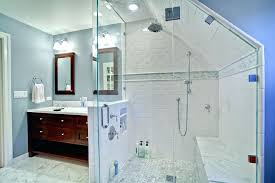 Design For Bathroom Sloped Ceiling Bathroom Designs 7 White Vanity Pivot Mirror