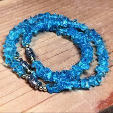 blue quartz bracelet images Nordstrom jewelry set of 3 clear blue quartz stone chip jpg