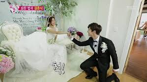 wedding dress eng sub song jae is captivated by so eun in a wedding dress on we