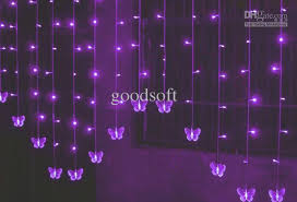light decoration for wedding cheap butterfly curtain led light string wedding lights decorative