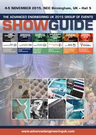 the advanced engineering uk 2015 group of events show guide by the