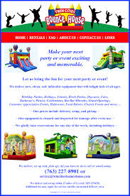 twin cities bounce house website brian eberling