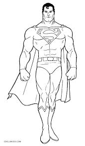 Coloring Pages Superman Coloring