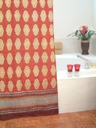 Moroccan Print Curtains Exotic Shower Curtains Foter