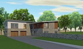 contemporary eco house in perthshire scotland