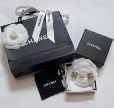 earrings malaysia luxurycometrue chanel cc logo earrings0 rm 870