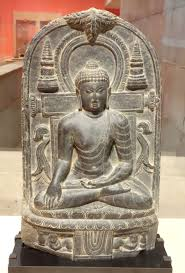 Dsc 0414 Jpg File Buddha India Pala Period 11th Century Black Stone