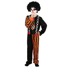 new mens clown it jester horror scary halloween circus kids fancy