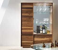 dining room glass cabinet dining room stylish brown modern wood display cabinet with glass