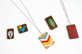 wood necklace designs images Made by joel jewelry jpg