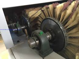 sandpaper roller brush wood floor sanding machine