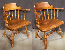 Antique Wooden Armchairs Maple America Antique Chairs 1900 1950 Ebay