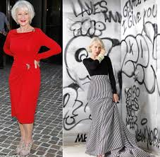 newest fashion styles for woman in their 60s style icon helen mirren possibly the best dresses women over 40