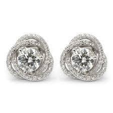 diamond earring studs 22 best stud earring jackets images on stud earring