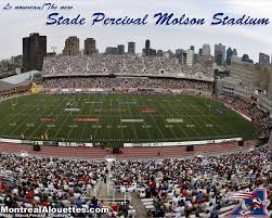 Stade Percival Molson Memorial Stadium Football Stadium In Montréal Alouettes At The Percival Molson Stadium Just Steps From