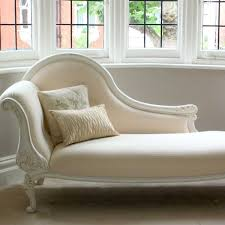 Chaise Lounge Chair With Arms Bedroom Furniture Beige Leather Chaise Lounger Modern Tufted