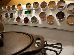 Spice Rack Including Spices Expandable Magnetic Spice Racks To Provide Storage For More Spices