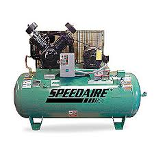 speedaire electric air compressor 2 stage 34 8 cfm 1wd72 1wd72