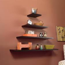 Espresso Floating Shelves by 36 Floating Wall Shelf