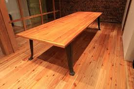 Antique Conference Table Hand Made Heart Pine Conference Table By Van Jester Woodworks